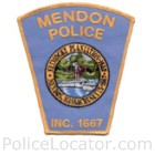 Mendon Police Department Patch