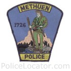 Methuen Police Department Patch
