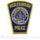 Middleborough Police Department Patch