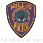 Millville Police Department Patch
