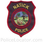 Natick Police Department Patch