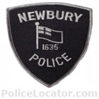 Newbury Police Department Patch