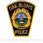 Oak Bluffs Police Department Patch