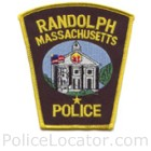 Randolph Police Department Patch