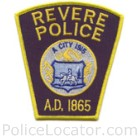 Revere Police Department Patch