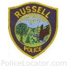 Russell Police Department Patch