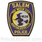 Salem Police Department Patch