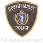 South Hadley Police Department Patch