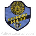 Spencer Police Department Patch