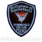 Springfield College Department of Public Safety Patch