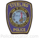 Sterling Police Department Patch