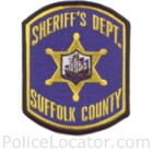 Suffolk County Sheriff's Department Patch