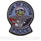 Sutton Police Department Patch