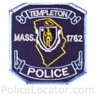 Templeton Police Department Patch