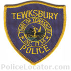 Tewksbury Police Department Patch