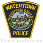 Watertown Police Department Patch