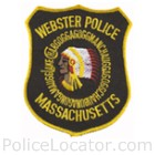 Webster Police Department Patch