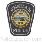 Wenham Police Department Patch