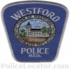 Westford Police Department Patch
