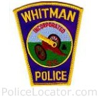Whitman Police Department Patch