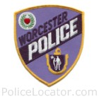 Worcester Police Department Patch