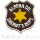 Alpena County Sheriff's Department Patch