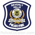 Beverly Hills Department of Public Safety Patch