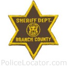 Branch County Sheriff's Office Patch