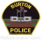 Burton Police Department Patch