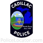 Cadillac Police Department Patch