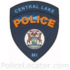 Central Lake Police Department Patch
