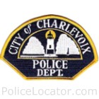 Charlevoix Police Department Patch