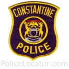 Constantine Police Department Patch