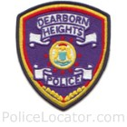 Dearborn Heights Police Department Patch