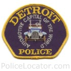 Detroit Police Department Patch