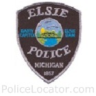 Elsie Police Department Patch