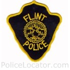 Flint Police Department Patch