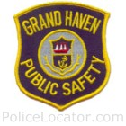 Grand Haven Department of Public Safety Patch