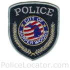 Harper Woods Police Department Patch