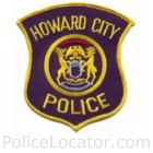 Howard City Police Department Patch