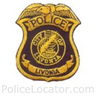 Livonia Police Department Patch