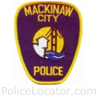 Mackinaw City Police Department Patch