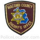 Macomb County Sheriff's Office Patch