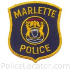 Marlette Police Department Patch