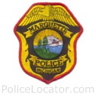Marquette Police Department Patch
