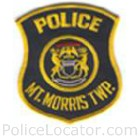 Mt. Morris Township Police Department Patch