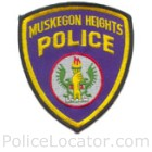 Muskegon Heights Police Department Patch