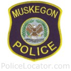 Muskegon Police Department Patch