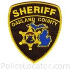 Oakland County Sheriff's Office Patch