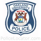 Oakland University Police Department Patch